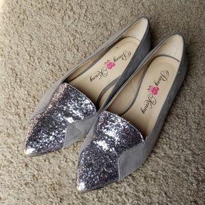 Penny loves Kenny Glitter Toe Flats